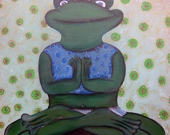 Frog - frog - Yoga / King frog - frog - Yoga