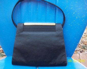 Vintage Satin Lewis Handbag made in France