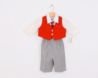 Vintage Boys Four Piece Suit  2T