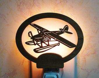 Float Plane Night Light