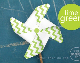 pinwheels paper pinwheels printable lime baby shower boy lime green party printables lime birthday lime pinwheels green pinwheels pinwheel