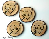 Unique Wedding Gift / Unique Anniversary Gift / Personalized Coasters / Custom Wedding Gift