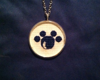 THON Charity - Penn State Paw Print Necklace