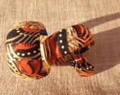 African print bangle set