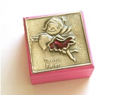 Personalised wooden tooth fairy box
