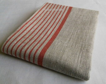 100% LINEN Flax BATH Sheet Towel European Flax - Natural Gray - SPA Large Wrap