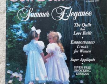 Sew Beautiful - Summer Issue 1995 - A Martha Pullen Publication