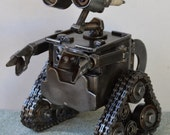 Hand Made WALL-E 7 Inches Recycled Scrap Metal Biggest One