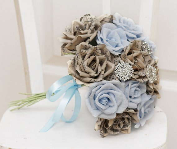 paper flower bouquets for weddings - Gecce.tackletarts.co