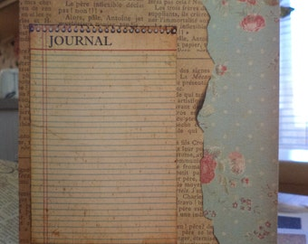 Her Journal A Blank Greeting Card