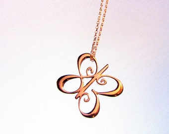 """One Meaning - """"I Love You Butterfly Necklace"""" Mini Size - all of our jewelry means I Love You"""