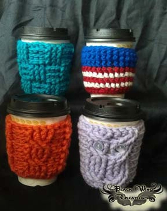 SALE!  Coffee & Ice Cream Cozy Collection - 4 patterns