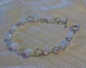 Beautiful Moonstone Healing Crystal Hypoallergenic Beaded Bracelet