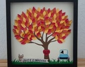 Personalized 3D Tree (personalized with colors, names, themes, great for weddings, anniversaries, baby showers, children, adults)