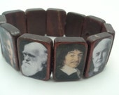 Wooden Scientist Stretch Bracelet, Now with more Science