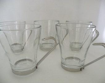 Bormioli Latte Espresso Glass Mugs