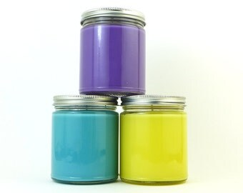 PICK 3 - 8 oz Jar Candles from Bubble & Geek - Save on shipping - Video Game, Geeky, Bookish, Pop Culture Candles