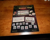 Cross Stitch Miniature Village Leaflet