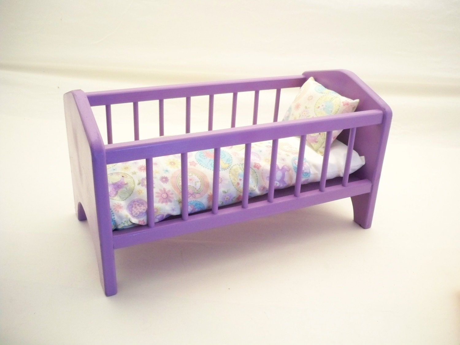 Marvelous photograph of Wood Doll BedBaby Doll Crib 18 inch Doll Crib by HummelCreations with #8A7341 color and 1500x1125 pixels