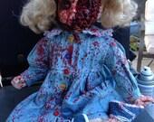 Zombie Apocolypse - Porcelain Doll No. 8