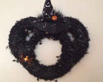 Minnie Mouse Witch Wreath