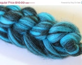 ON SALE 1.7 oz 100% Rustic blended Australian Wool Top - Roller Derby