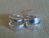 Silver Napkin Rings Holders Silverplate Silverware Rings