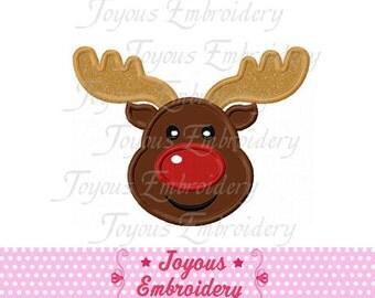 Christmas Reindeer  Applique Machine Embroidery Design NO:1242