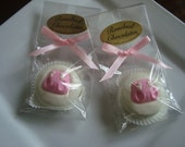 12 Chocolate Pink Diaper Baby Shower Oreo Cookie Favors Candy Gifts