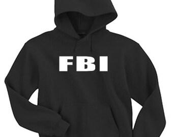 Adult Hoodie / FBI