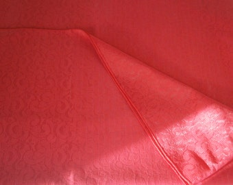 Lovely Red All Lace Tablecloth   Amazing Pattern   Synthetic   Formal  Dining   Mix And