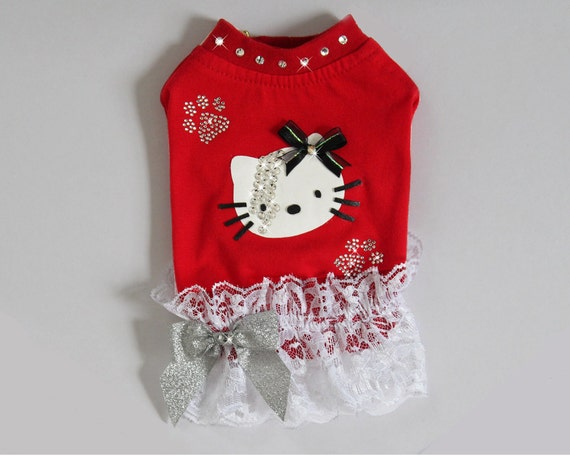 Cat Dog Crystal & Lace