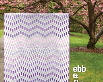 Carolina Patchworks Ebb and Flow Quilt Pattern