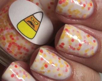 Halloween Candy Corn Nail Polish