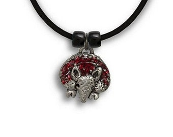 Hand Painted Armadillo Necklace