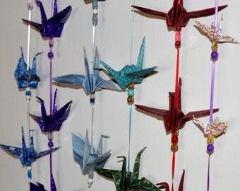 origami string decor