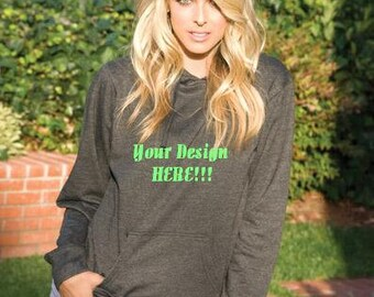 Junior's Monster Fleece Hoodie Custom Embroidery Pullover Sweater Sweatshirt