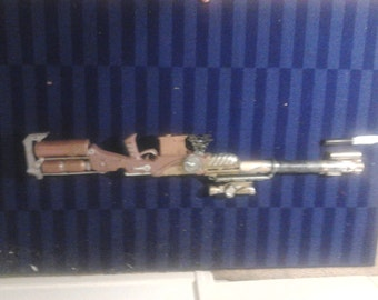 Steampunk, Victorian gothic  Rifle -- The Markar Range Rifle Cosplay prop gun