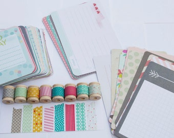 Project Life - 5th & Frolic - Card Pack plus Washi Tape
