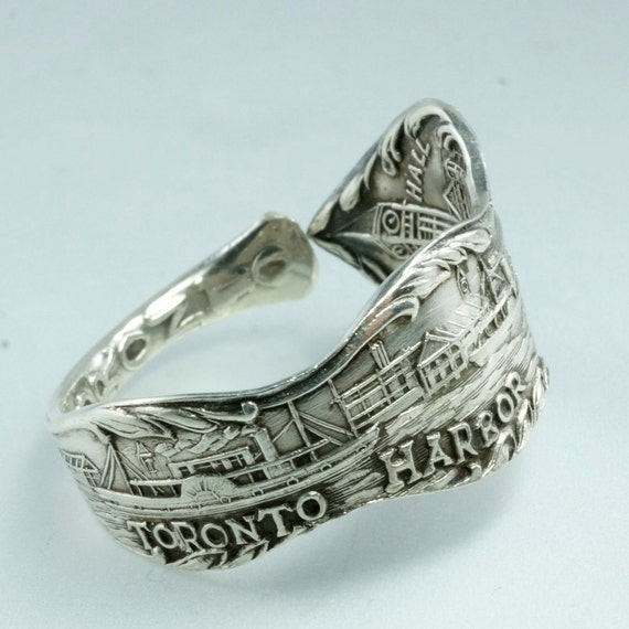 spoon ring sterling silver antique toronto by spoonjewelry