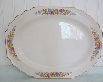 Antique W. S. George Platter Lido Pattern