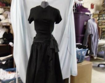 50's little black dress