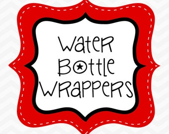 Made to Match Water Bottle Wrappers