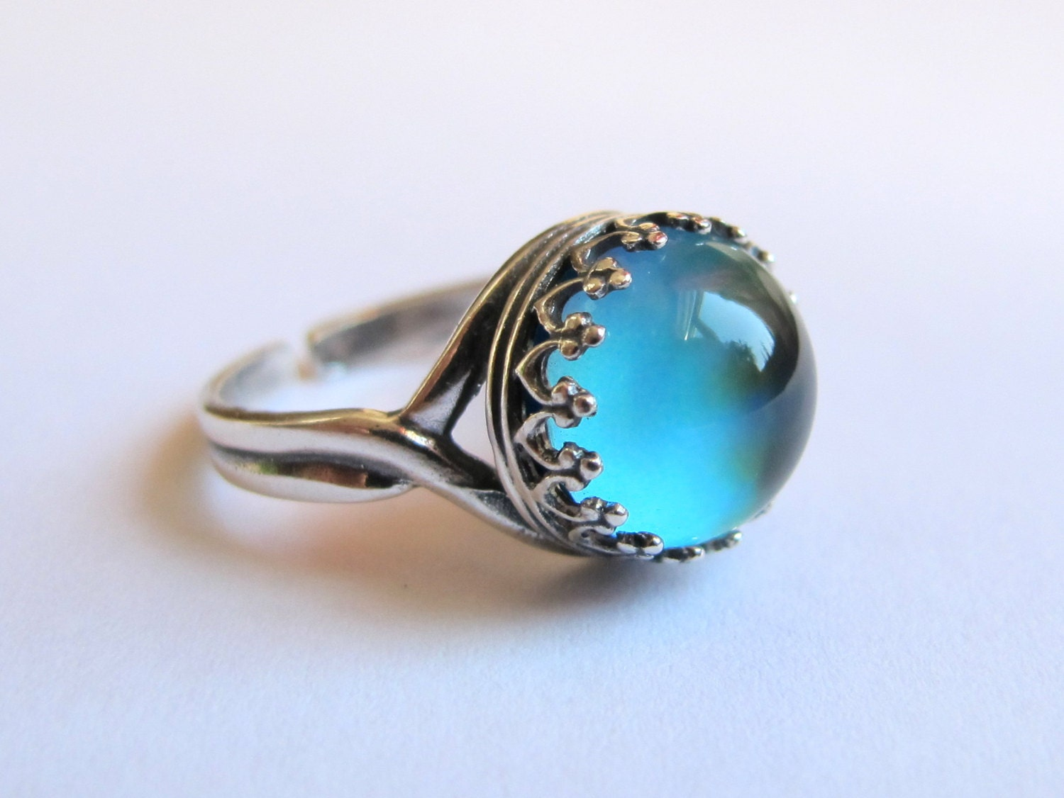 mood ring sterling silver 925 11 mm high quality