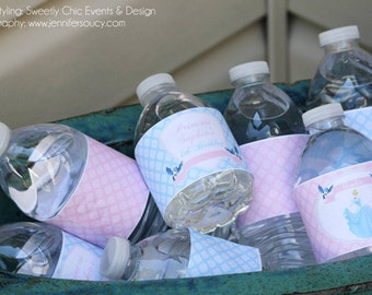 Cinderella Water Labels