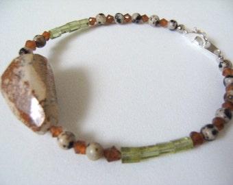 Handmade Artisan Gemstone Bracelet