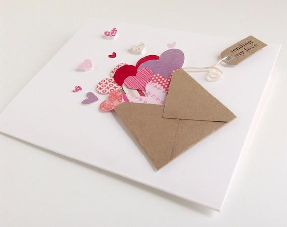 Tarjetas de San Valentín con materiales de casa | Manualidades