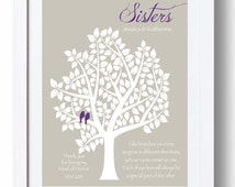 Wedding Gift For Sister Cash : ... Sister Print - Personalized Gift for Sister on Wedding Day - Can match