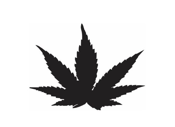 items similar to marijuana leaf stencil on etsy