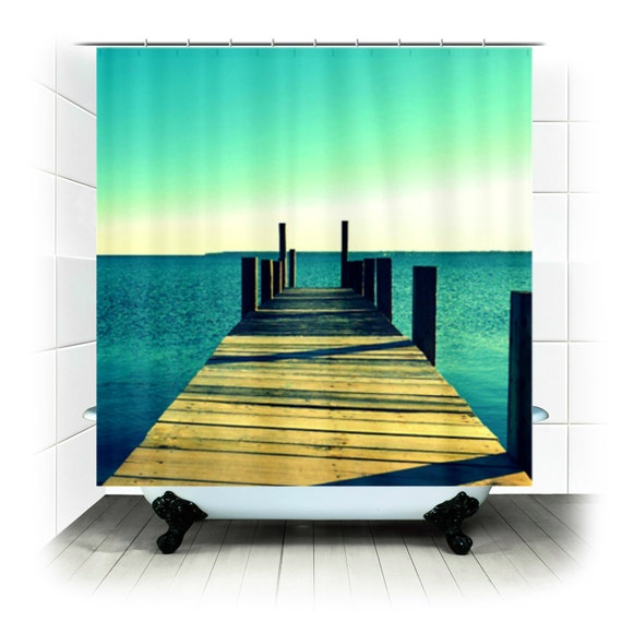 Fabric Shower Curtain - Tomorrow Will Have to Wait - Photography ...